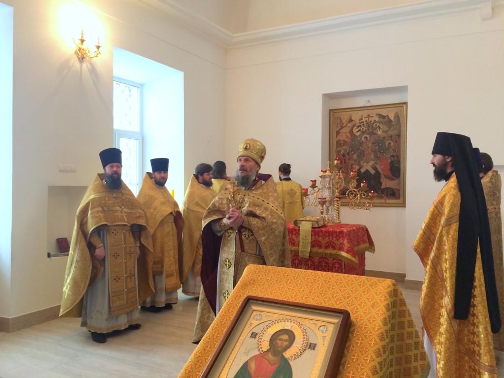 Празднование 650-летия венчания святых князя Димитрия Донского и княгини Евдокии в Коломне